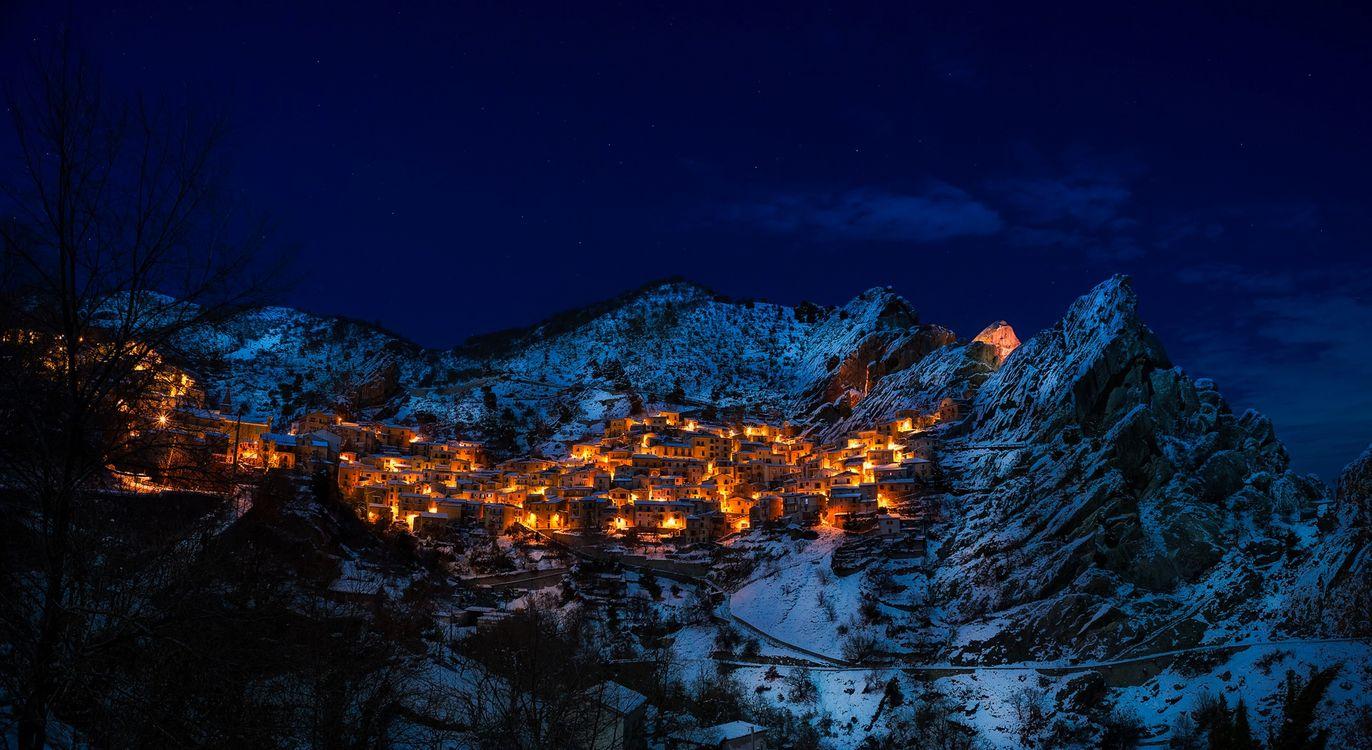 Photos for free castelmezzano, italy, village - to the desktop