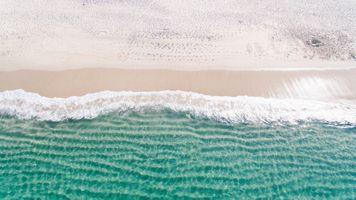 Фото бесплатно берег, песок, заморозки