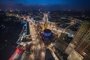 Photo free illumination, architecture, Berlin