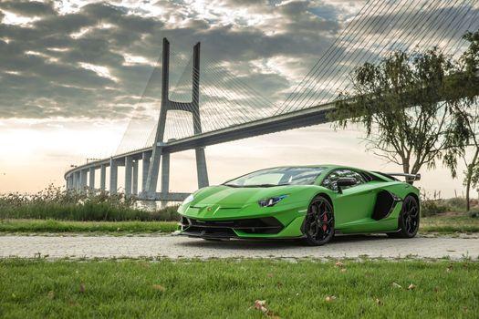 Заставки SVJ Lamborghini Aventador, Lamborghini Aventador, Lamborghini