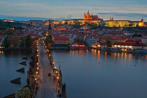 Бесплатные фото Charles Bridge,Prague,Czech Republic,Карлов мост,Прага,Чехия