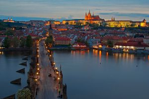 Фото бесплатно Charles Bridge, Prague, Czech Republic, Карлов мост, Прага, Чехия