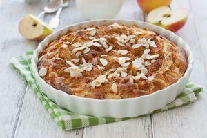 Бесплатные фото пирог,выпечка,сладкое,яблоки,орешки