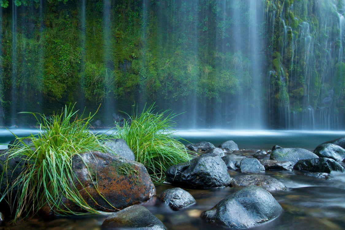 Фото бесплатно Mossbrae Falls, California, водопад - на рабочий стол