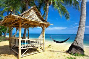 Заставки Tropical, paradise, beach