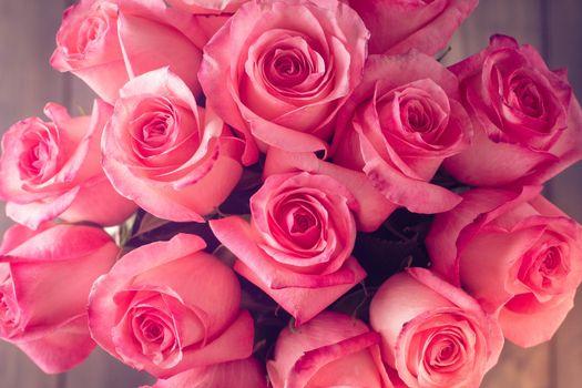 Бесплатные фото букет,бутоны,розы,розовые,лепестки,цветы