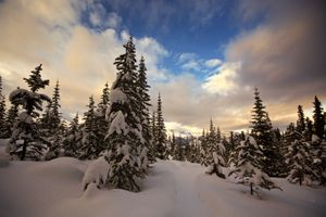Фото бесплатно пейзаж, канада, закат