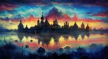 Photo free Painting, Sky, Artist