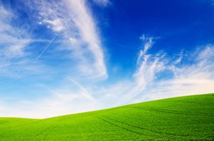Фото бесплатно холмы, пейзаж, небо
