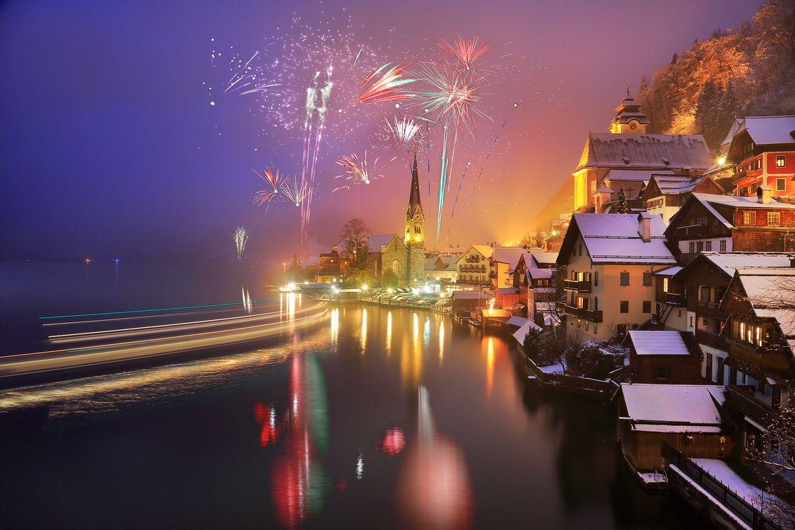 Фото бесплатно ночной город, ночь, город - на рабочий стол