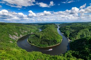 Изгиб реки Саар - Германия