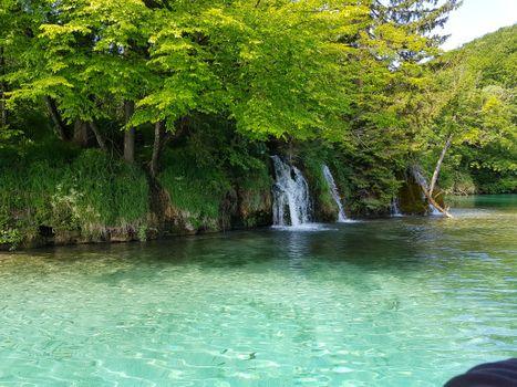 Бесплатные фото Плитвицкие озера,поход на лодках,Национальный парк Плитвицкие озера,Plitvice Lakes national park,Croatia,Хорватия,водопад,пейзаж