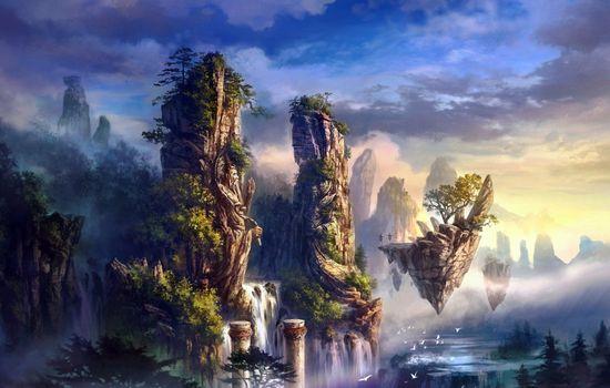 Фото бесплатно мистический, джунгли, картины