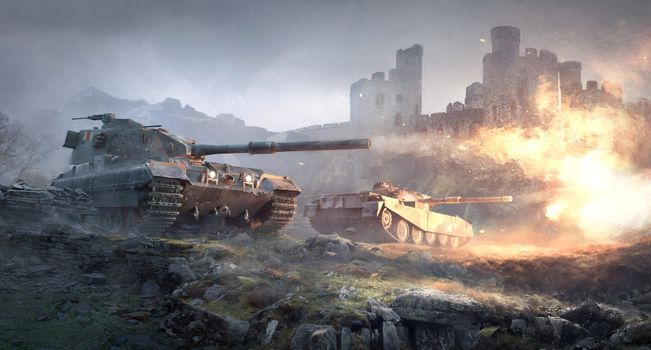 Photo free world of tanks, fv215b, fv4202