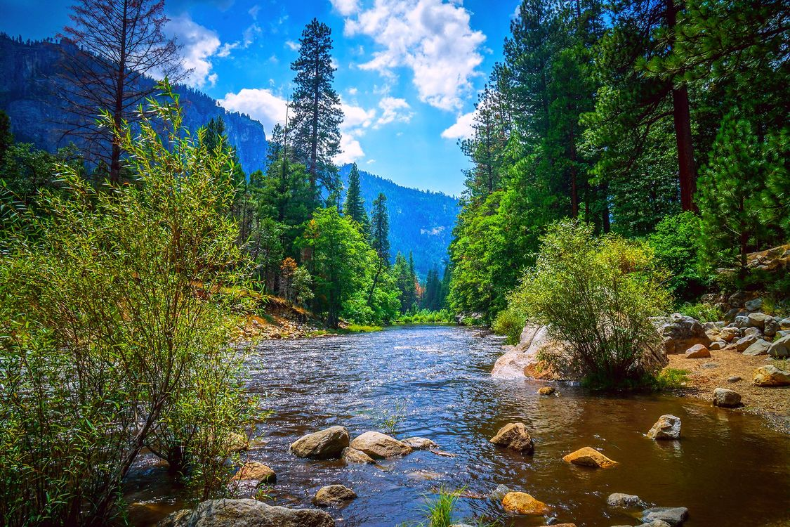 Фото бесплатно Сьерра-Невада, горы, пейзаж - на рабочий стол