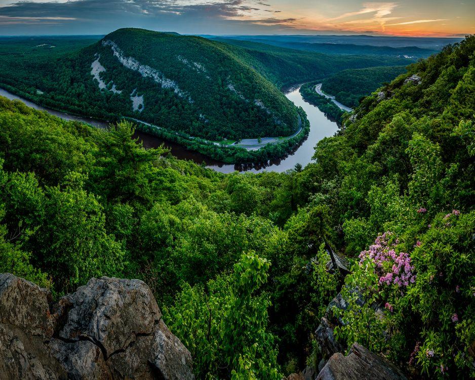 Обои Река Делавэр, Нью-Джерси, Аппалачи картинки на телефон