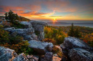 Фото бесплатно западная Вирджиния, Восход, Аппалачи