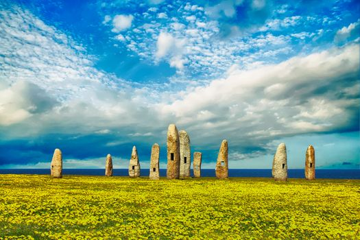 Photo free ancient monument, standing stones, historic