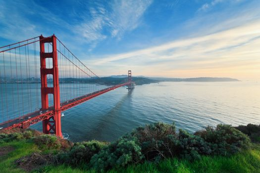 Фото бесплатно пейзаж, закат, Сан-Франциско
