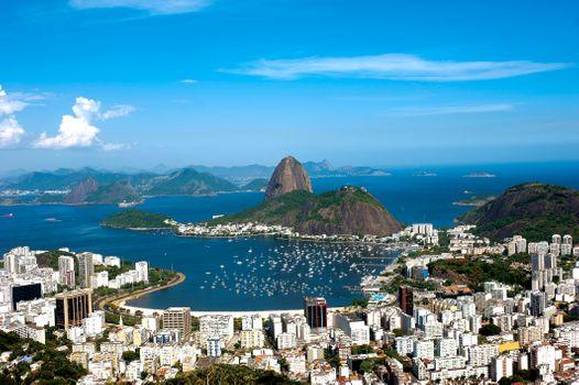 Заставка бразилия, рио-де-жанейро на рабочий стол бесплатно