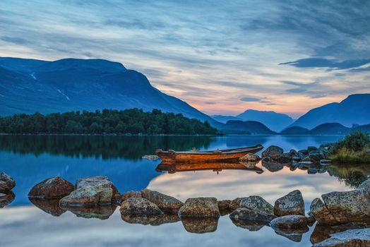 Фото бесплатно Valdres, Norway, озеро