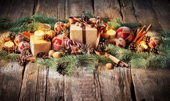 Фото бесплатно дизайн, фон, рождественский орнамент