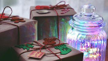 Фото бесплатно рождество, дары, подарки