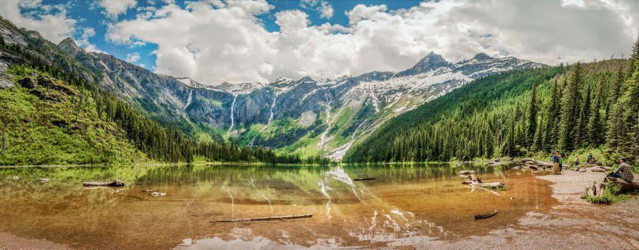 Photo free Avalanche Lake, Glacier National Park, Canada