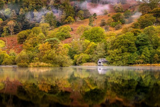 Photo free Lake District National Park, lake, trees