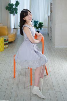 Бесплатные фото Rinne Mitsuoka,Японка,в платье,улыбка