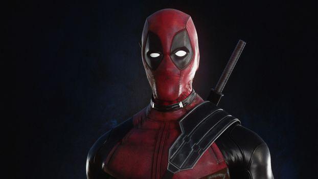 Заставки Digital Art, работа, Deadpool