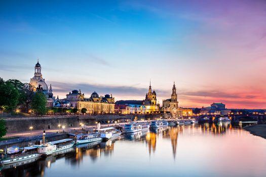 Фото бесплатно Дрезден, Германия, утро