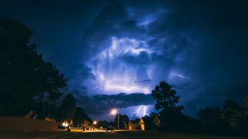 Фото бесплатно Ночь, Ночное небо, Грузия