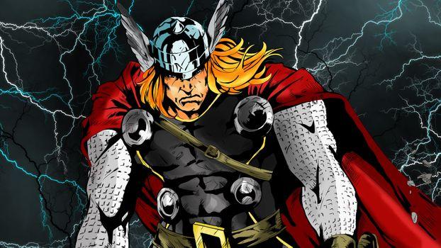 Фото бесплатно Тор, HD качестве, супергерои