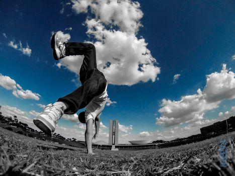 Фото бесплатно трава, облако, небо