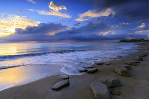 Заставки побережье, природа, небо
