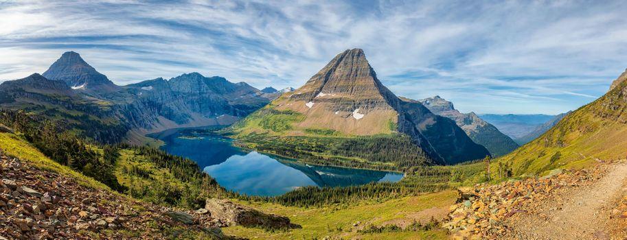 Фото бесплатно Hidden Lake, озеро, природа