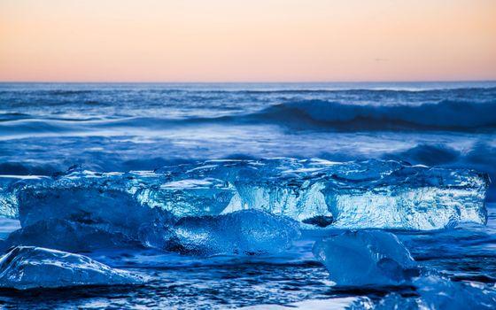 Фото бесплатно океан, горизонт, небо
