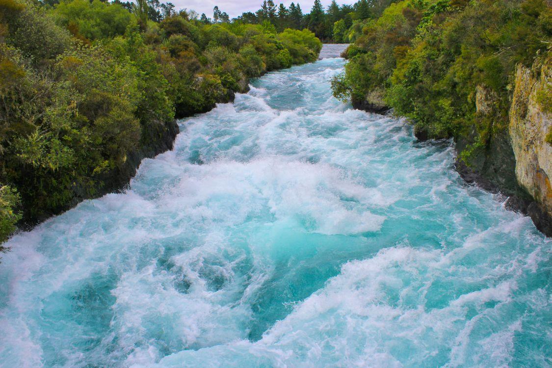 Фото бесплатно вода, быстро, Новая Зеландия - на рабочий стол