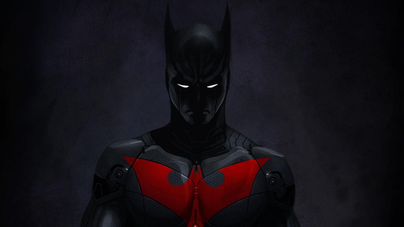 Заставка бэтмен, супергерои, художественное произведение на монитор