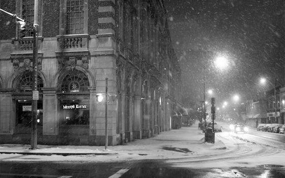 Photo free nature, snowfall, snow