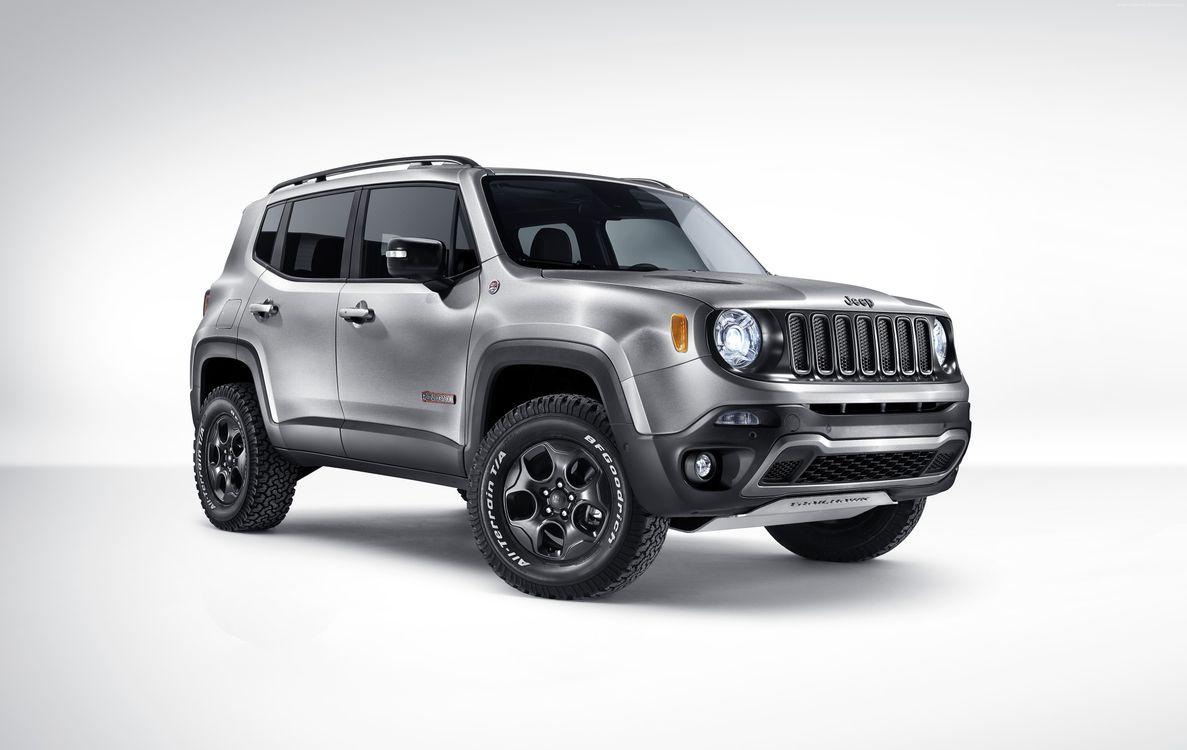 Jeep Renegade Trailhawk · бесплатное фото