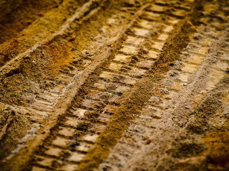 Photo free sand, wood, track
