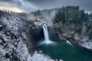 Snoqualmie Falls - водоём