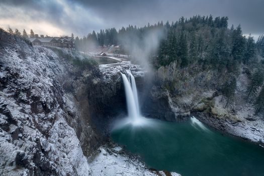 Snoqualmie Falls - водоём · бесплатное фото