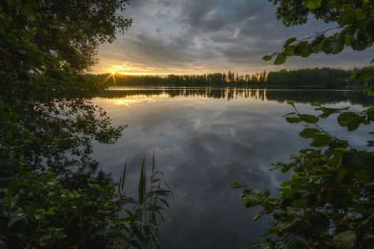 Window into the sunset · free photo