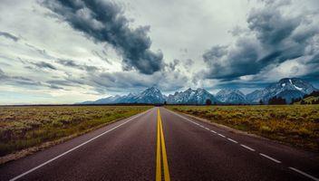 По дороге в Йеллоустонский национальный парк