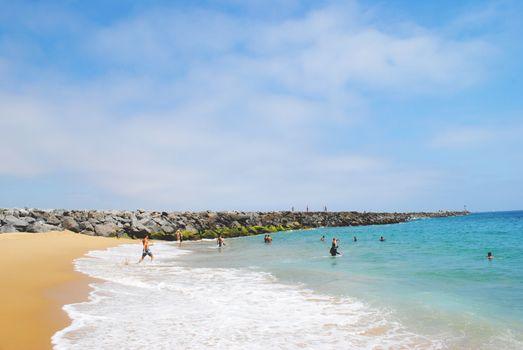 Photo free wind wave, wave, sand