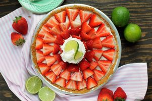 Заставки клубника, лайм, фрукты