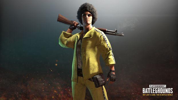 Photo free pubg gamescom skins, yellow jacket, black